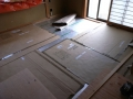 岩切の家床暖工事