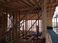 東泉町建て方完了2