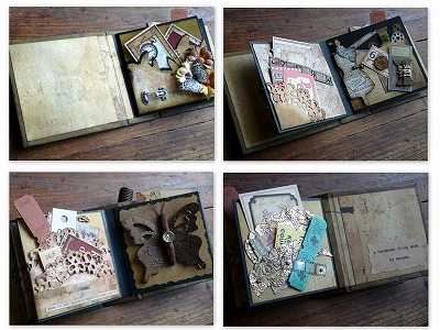 Shabby Chic Mini Book