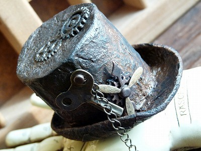 steampunk mini top-hat