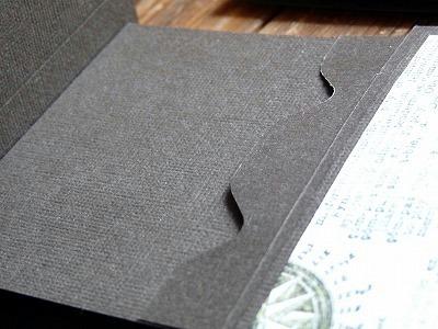 エンベロープパンチボード(Envelope Punch Board)で「カードホルダー」作り
