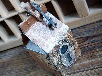 「魔女の牛乳箱」BOXもの作り (作り方も少し)