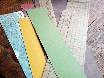 エンベロープパンチボード(Envelope Punch Board)で「リボン作り」