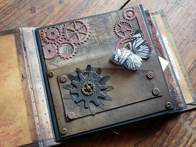 Steampunk Mini Book (CPプレゼント用)