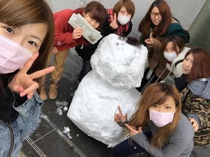20141218 雪だるま02