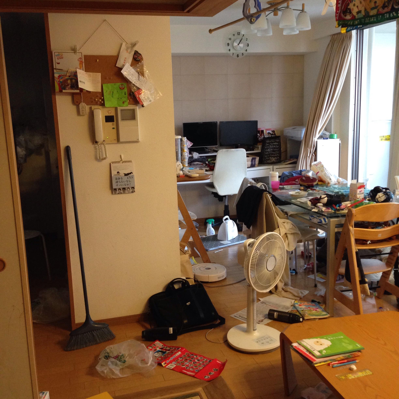 ブログ 汚 部屋