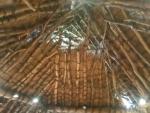 竪穴式住居の天井