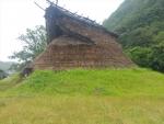 弥生時代の竪穴式住居う(再現)