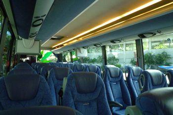 バス、でかい!
