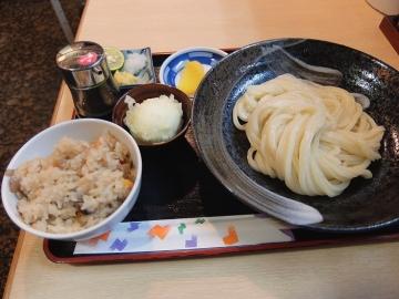 釜ひろ生醤油定食1