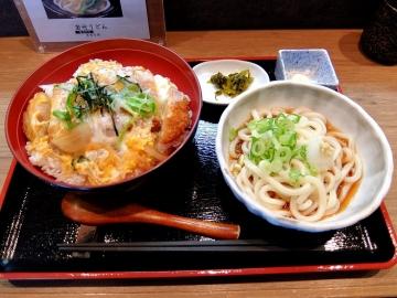 雲優庵カツ丼1