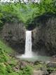 苗名滝の滝つぼ