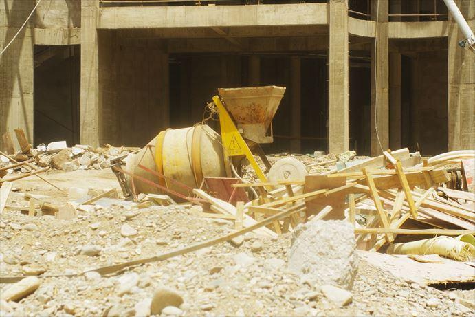 カシュガルのタワー工事中…