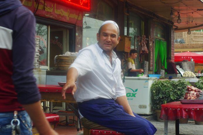 カシュガルの街並み (2)