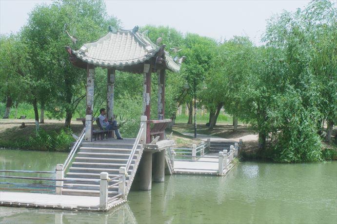 カシュガルの公園