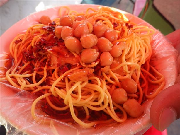 カシュガルバザール冷麺 (2)