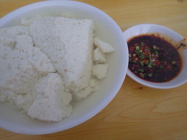 カシュガル中華のお昼ごはん (2)