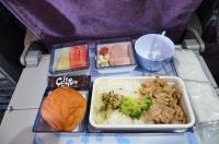 CI116の機内食150208
