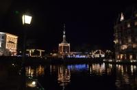 フードコートから見た夜景150210