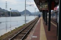 快速がハウステンボス駅に入線150211