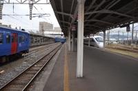 長崎駅構内150211