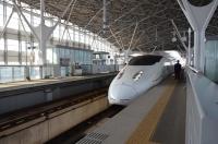 800系新幹線つばめ新鳥栖駅入線150211