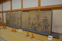 本丸御殿の屏風150212