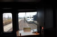 阿蘇駅に入線150212