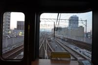 大分駅は高架区間150212