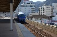 特急ソニック23号別府駅到着150213