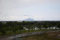 レストラン屋上から龜山島150220