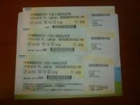 Lamigo兄弟戦チケット150106