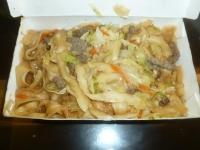 牛肉炒刀削麺150107