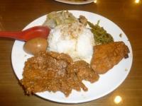 四方阿九魯肉飯の排骨飯150112