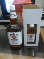 JIM BEAM大瓶&オマケの小瓶150115