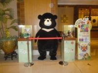 ロビーに熊150305