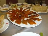 天厨菜館の北京ダック150319