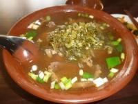 牛肉麺に酸菜150417
