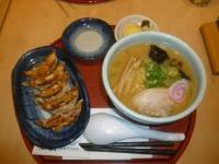 味噌ラーメン&焼き餃子セット150530