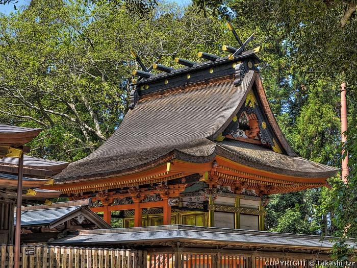 八幡宮本殿(茨城)