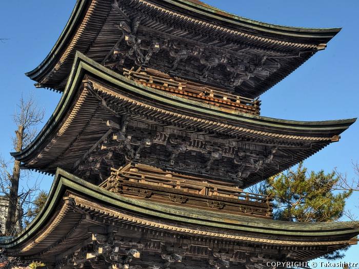 信濃国分寺三重塔