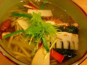 1129清香園@スープ