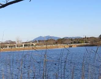 筑波山乙戸沼から