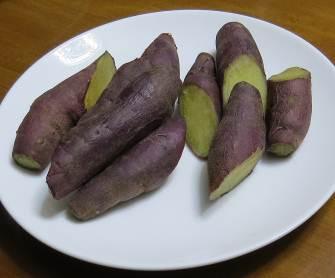 ベニハルカ蒸かしイモ