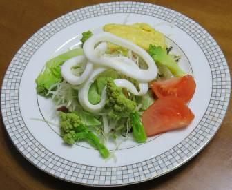 ロマネスコ入りサラダ2