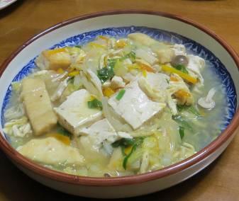 豆腐と野菜ミックス
