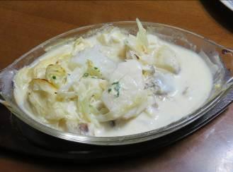 ジャガイモ料理シチュー風