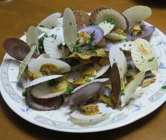 貝とパセリ