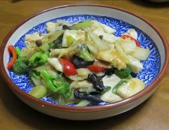 魚肉と野菜ミックス