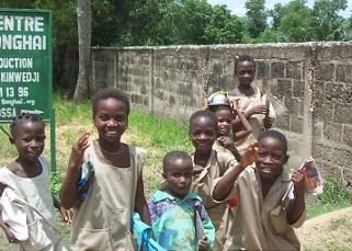 ベナン国の子供たち